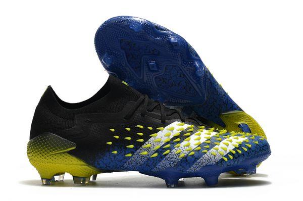 New Adidas Predator Freak.1 Low FG Blue/Core Black/White/Yellow