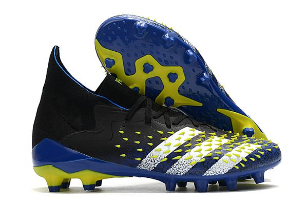 New Adidas Predator Freak .1 AG Blue/Black/White/Yellow