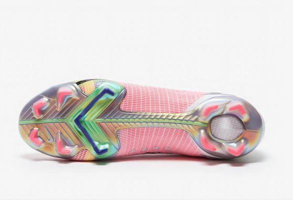 New Nike Mercurial Superfly Dragonfly VIII Elite FG White/Metallic Silver