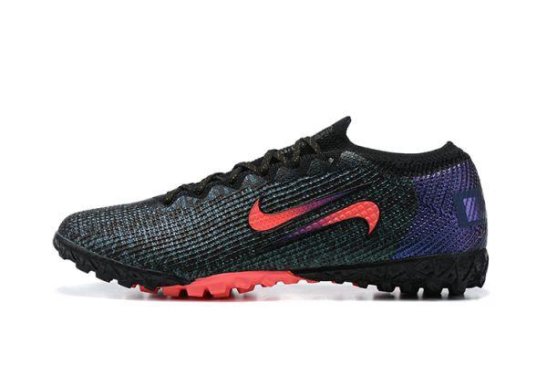 New Nike Vapor 13 Elite TF Black/Fierce Purple/Metallic Silver/Crimson