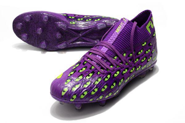 New Puma Future 5.1Netfit FG Purple Green
