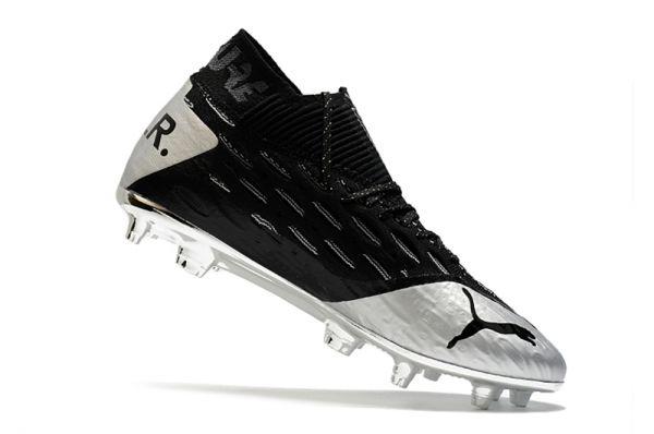 Puma Future Netfit Griezmann 19.1 FG Black Silver