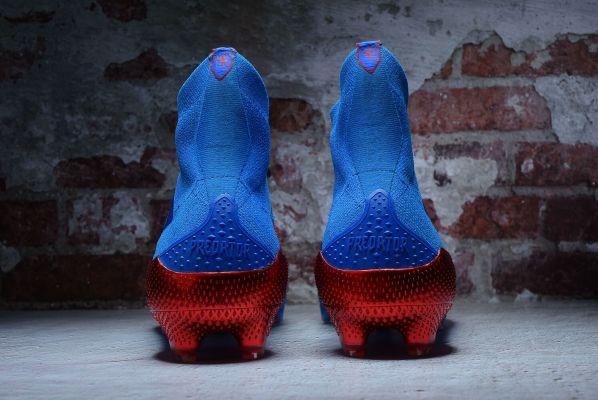 Kids adidas Predator Mutator 20+ FG Tormentor Pack Team Royal Blue Footwear White Active Red