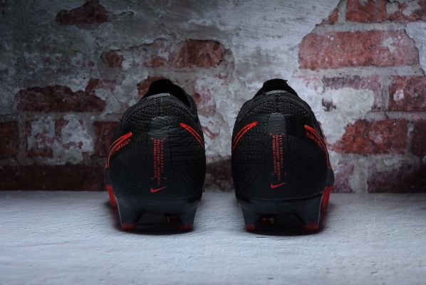 Nike Mercurial Vapor 13 Elite FG - Black/Black/Dark Smoke Grey