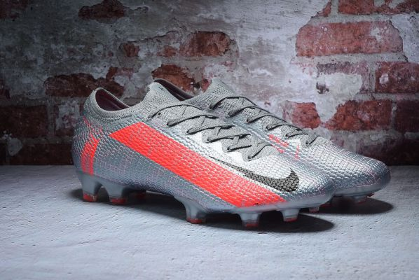 Nike Mercurial Vapor 13 Elite FG - Metallic Bomber Grey/Black/Particle Grey